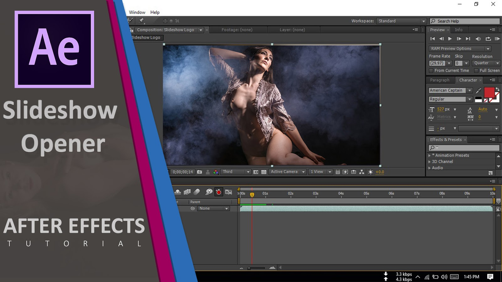 Create Slideshow Opener - After Effects Tutorial | No Third