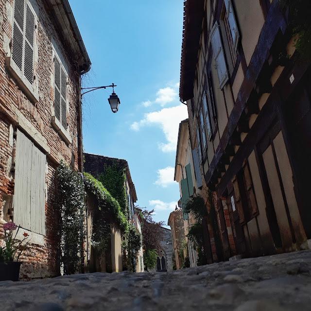 Cute street of Auvillar