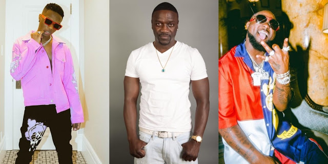 Davido and Wizkid are richer than you - Akon blasts American rappers