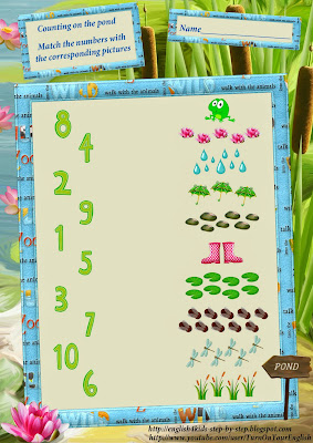 counting together with numbers worksheet