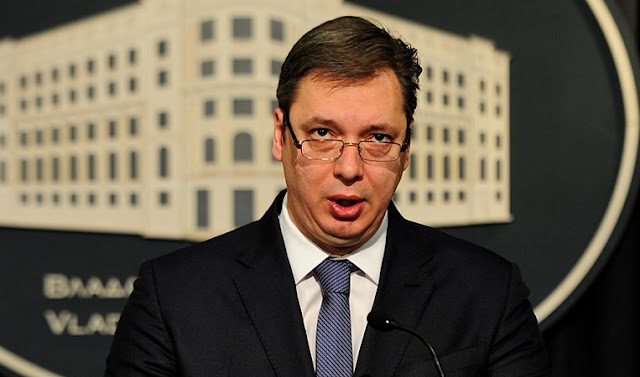 Serbia never to join NATO, Vucic says