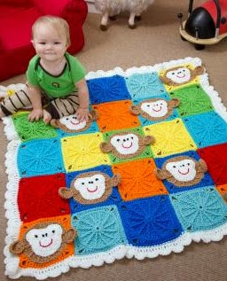 http://www.redheart.com/free-patterns/monkey-around-baby-blanket