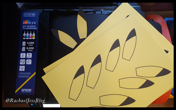 Printing Pikachu's ears