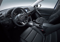 Mazda CX-5 Crossover SUV interior