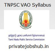 TNPSC VAO Syllabus