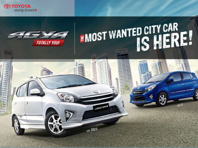Harga All New Agya Ampit Toyota