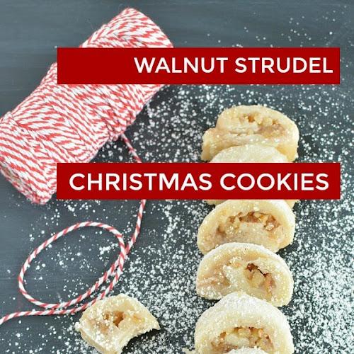 Family Favorite Walnut Strudel Cookie Recipe