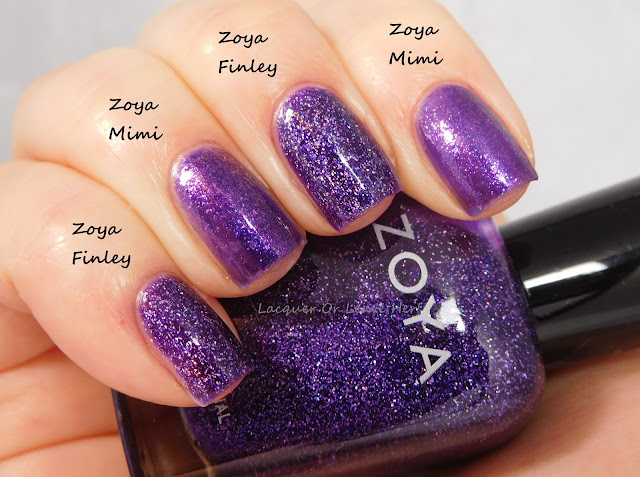 Zoya Finley vs. Zoya Mimi