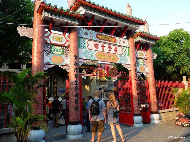 vieille ville hoi an porte chinoise temple vietnam