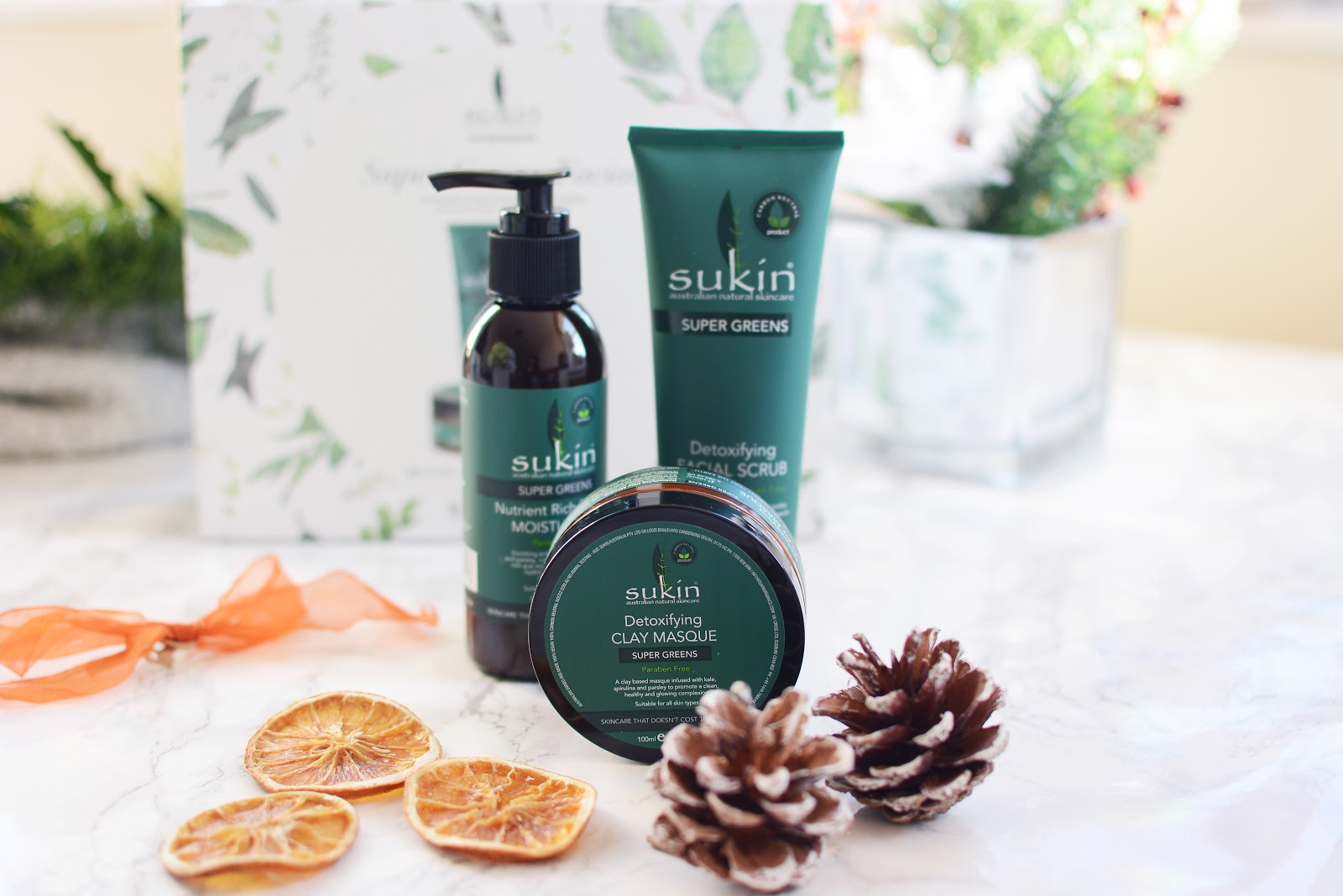 Sukin Super Greens Gift Set