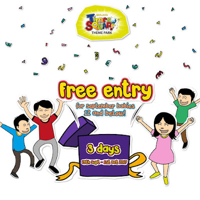 Berjaya Times Square Theme Park Free Entry Promo