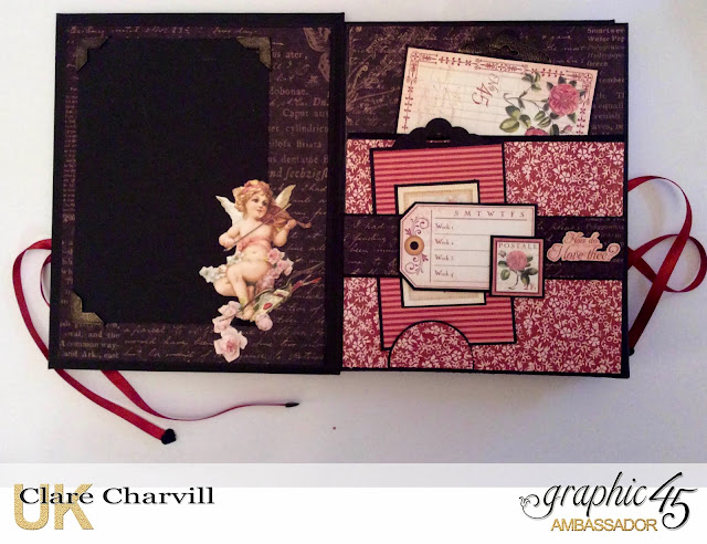 Valentine Album 2017 Clare Charvill Graphic 45