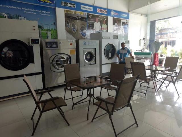 mesin laundry khusus hotel