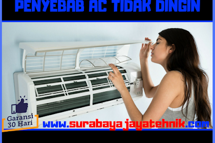 Penyebab AC Tidak Dingin Dan Cara Mengatasinya