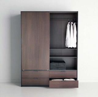 model lemari baju minimalis terbaru