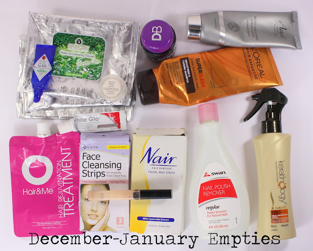 December 2015-January 2016 Empties