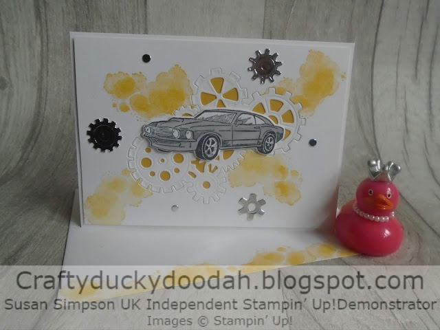 Craftyduckydoodah!, Stampin' Up! UK Independent  Demonstrator Susan Simpson, Geared Up Garage, Classic Garage Suite, Supplies available 24/7 from my online store,
