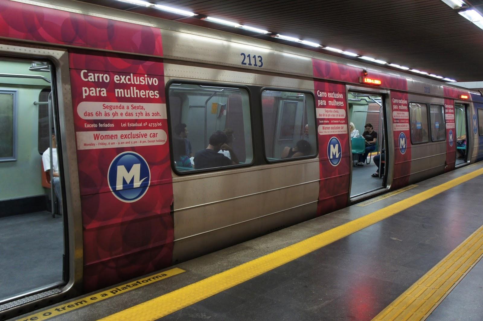 Pezão libera vagões femininos do metrô e da SuperVia para mulheres travestis e transexuais
