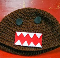 http://www.ravelry.com/patterns/library/crochet-domo-kun-beanie-hat-pattern