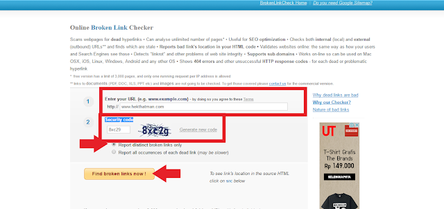 Cara Mengatasi Broken Link Pada Blog di Blogger Atau Website
