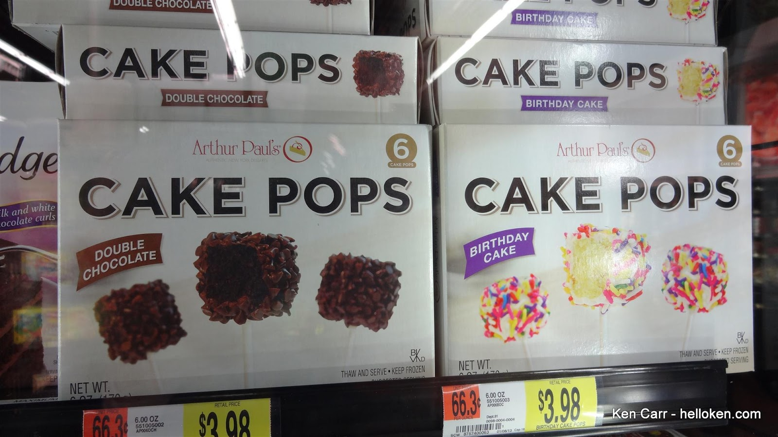 Cake Pops Are A Trendy Thing These Days Made By Balling Up And Dipping Them Into Candy Based Icing 6 Of In The Freezer Section For 398