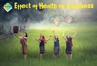 HEALTH GOES HAND ON HAND WITH THE HAPPINESS