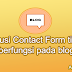 Solusi Contact Form tidak berfungsi pada blog ( N Light Pro )