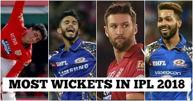 Most Wickets in IPL 2018, IPL 2018 Purple Cap, Highest Wicket Takers in IPL 2018