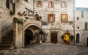 Wallpaper: Buildings Architecture from Assisi