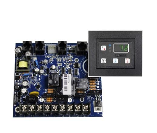 image is a passport io circuit board and io keypad