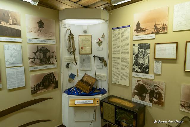 Interior del Museo Polar, Tromsø - Noruega, por El Guisante Verde Project