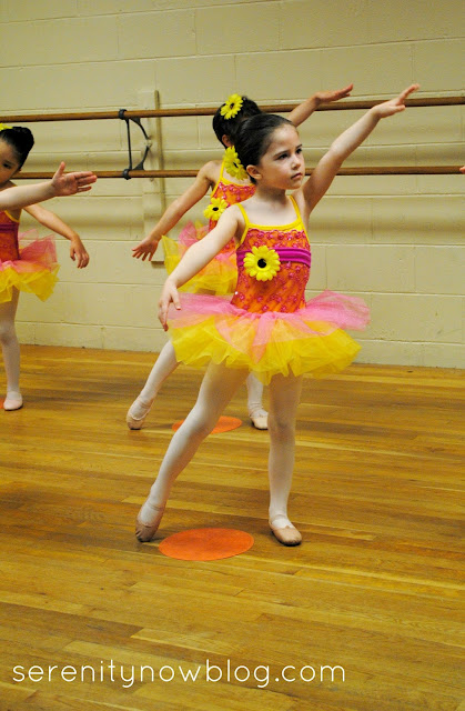 Ballet Recital, Serenity Now blog