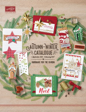 See The New Autumn Winter Catalogue from Stampin' Up! UK here