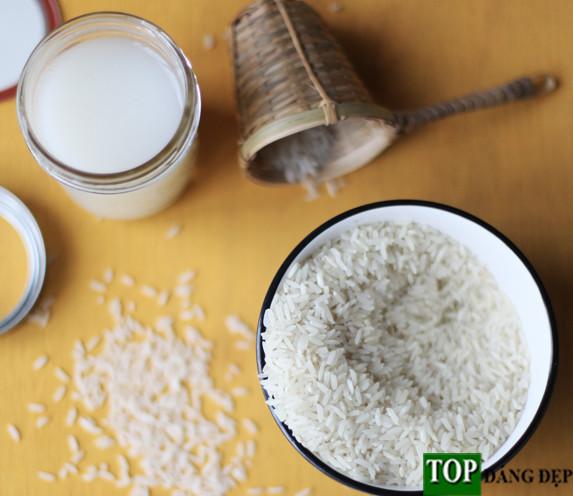 Cách làm trắng da an toàn hiệu quả bằng nước vo gạo