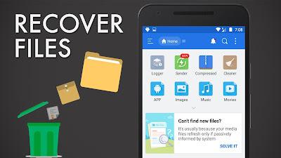 Cara Mengembalikan File Yang Terhapus Permanen di Android Tanpa Root