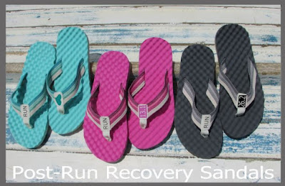 running recovery sandals runners flip flop