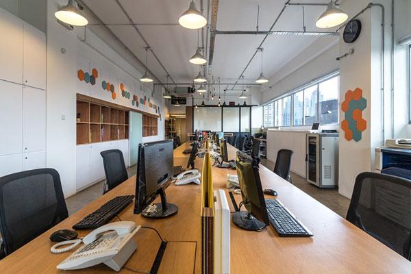 desain interior kantor ruko
