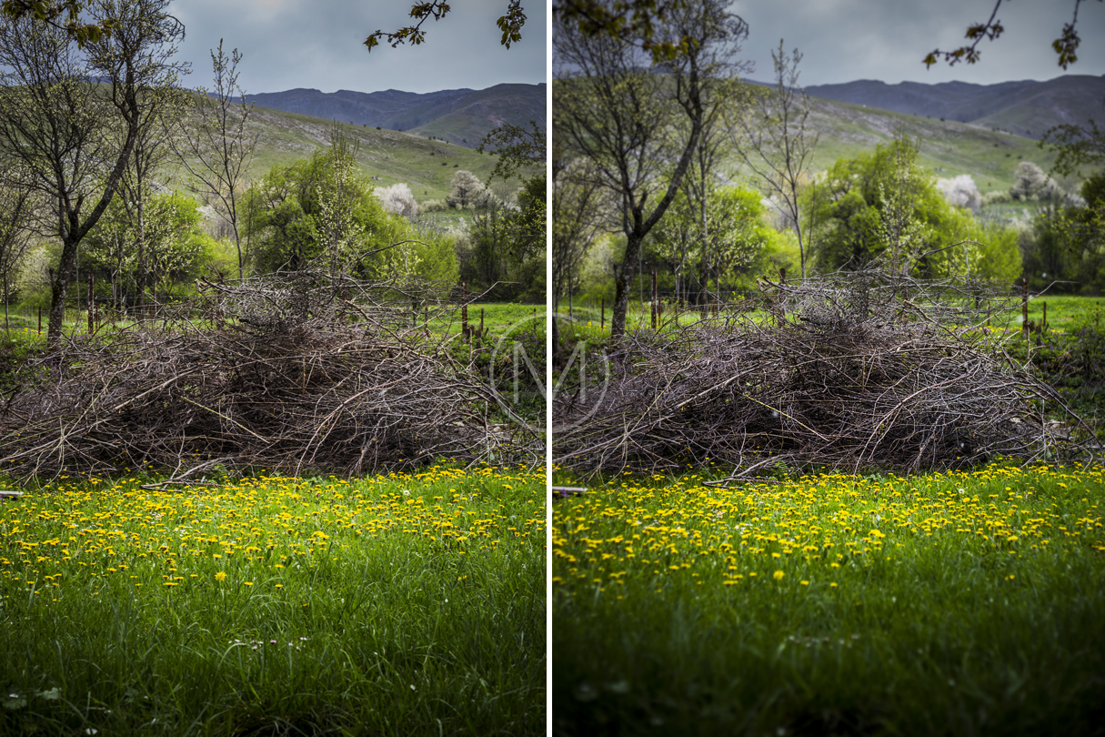 How to add a Shallow Depth of Field in Landscape Images ...  How to add a Sh...