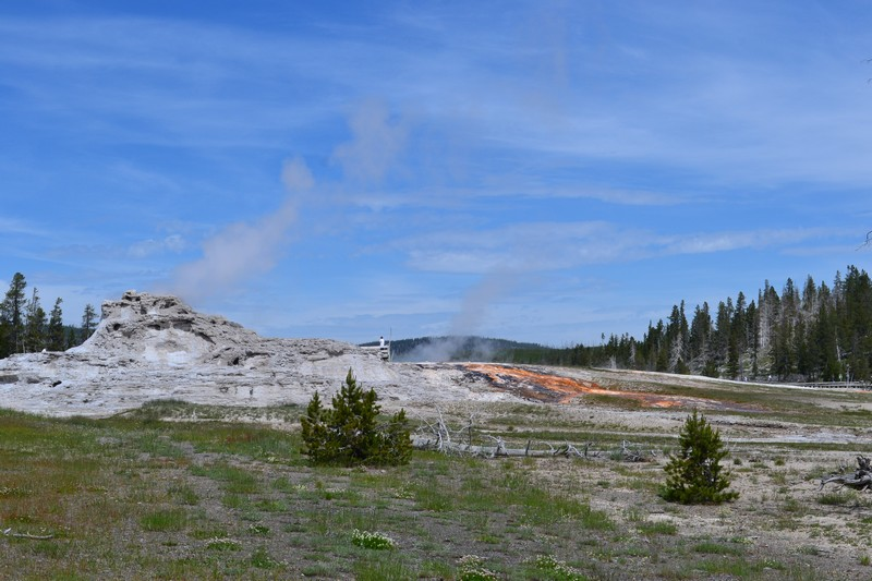 old faithful, Yellowstone, Wyoming, usa, parc
