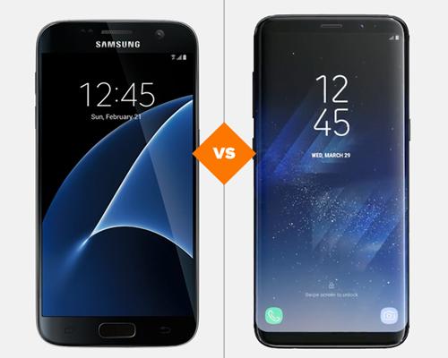 Galaxy S7 e Galaxy S8: veja o comparativo de ficha técnica