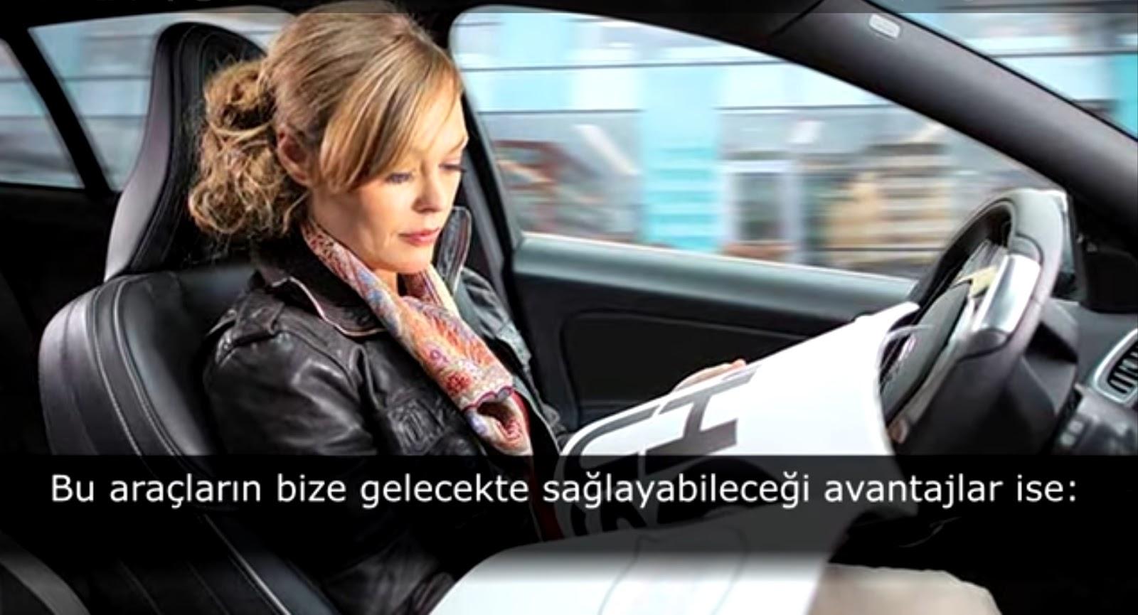 Otonom araç otomobil 1