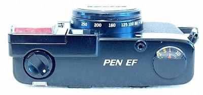 Olympus Pen EF, Top