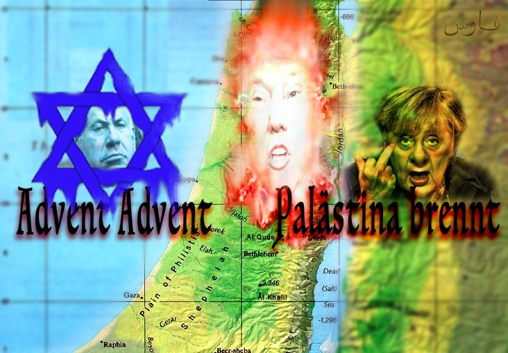 Advent Advent Burning Palestine Promosaik Dialogue Between
