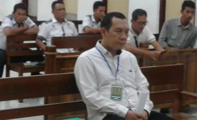 Pegawai PTPN divonis 3 bulan penjara