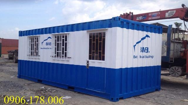 giá bán container mới