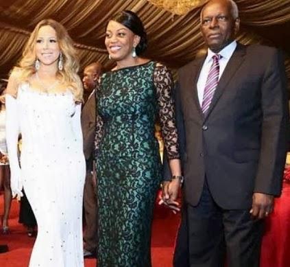 mariah carey paid 1 million angola