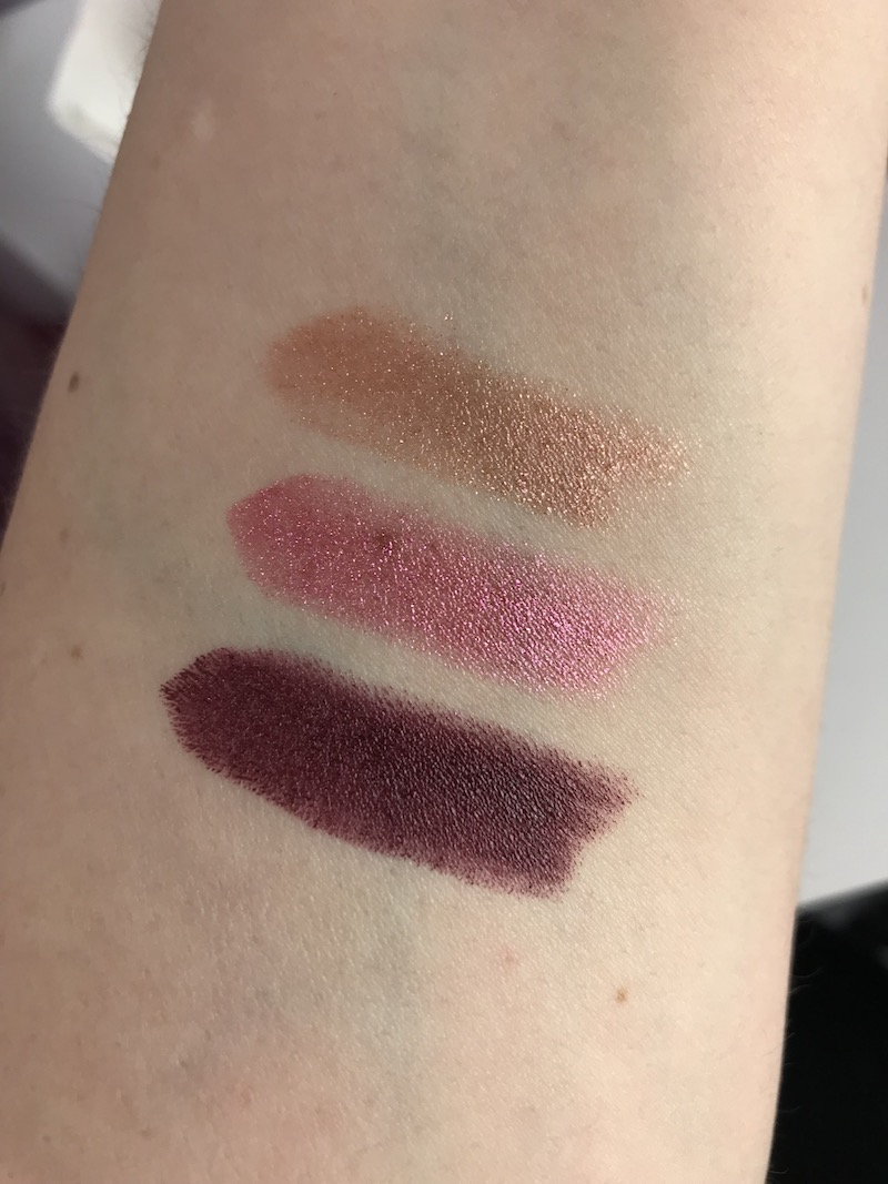 Devilish, Cherry, Juicy Urban Decay Lipsticks