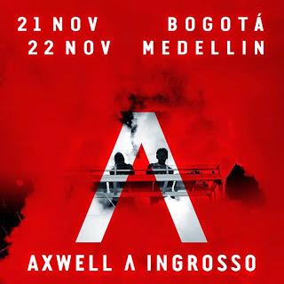 AXWELL - INGROSSO en Bogotá