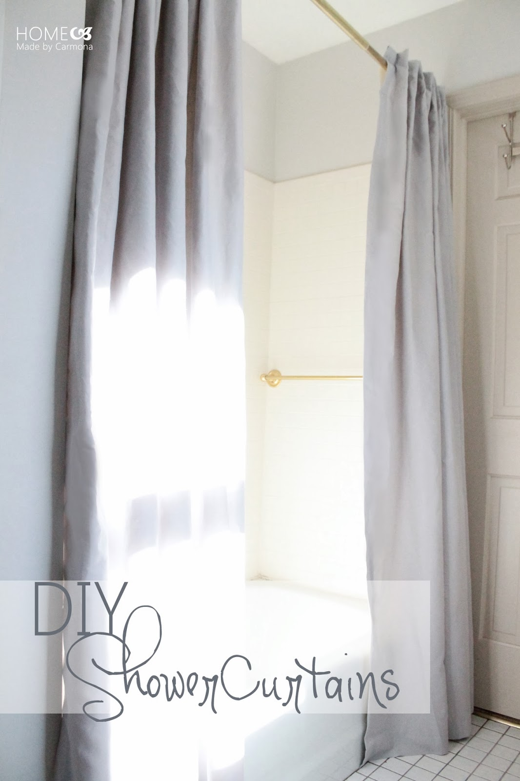 Take It From The Pros  View Along The Way  DIY Curtains