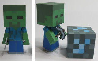 free Minecraft paper crafts